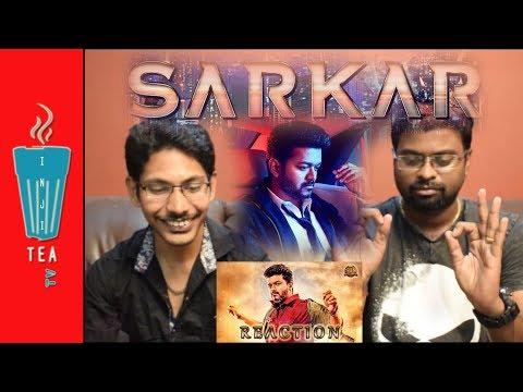 Sarkar Official Teaser   Reaction   Tamil   Thalapathy Vijay, A.R.Murugadoss, A.R.Rahman
