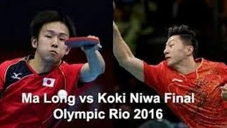 Game Full Ma long vs Koki Niwa Final Table Tennis Team Rio 2016. Olimpíadas Rio de Janeiro