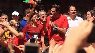 Sondagem dá Bolsonaro na frente e Haddad cada vez mais perto