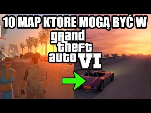 POWRÓT DO VICE CITY W GTA VI?! 10 map, które mogą być w GTA VI 😱
