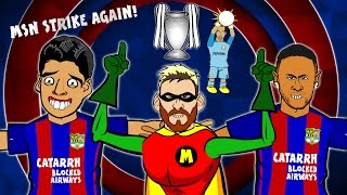 MSN destroy Man City in the Champions League, 2016! GUESS WHO - Lionel Messi! (Parody) ⚽️Subscribe to 442oons: ...