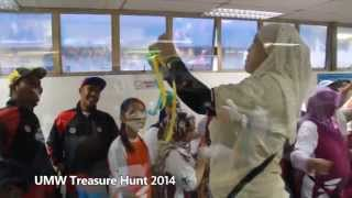UMW Treasure Hunt 2014
