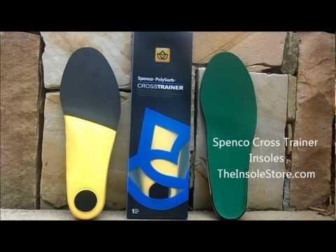 Spenco Cross Trainer Insoles Review @ TheInsoleStore.com
