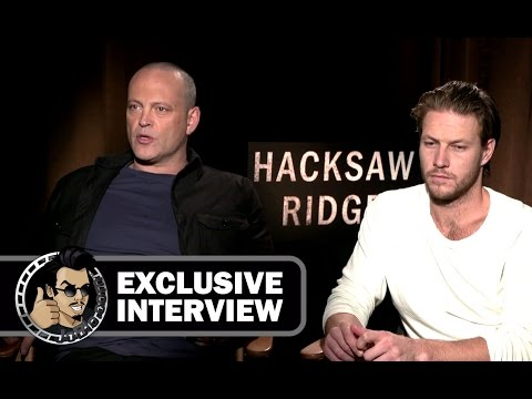 "Vince Vaughn and Luke Bracey Exclusive Interview For ""Hacksaw Ridge"" And Movie Review"