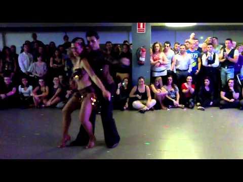 Alex and Noemí. Shows, Costa daurada bachata festival 2012 (видео)