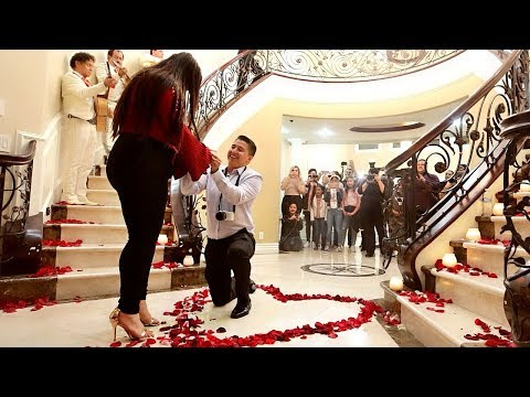 SURPRISE MARRIAGE PROPOSAL! Our 5 Year Love Story
