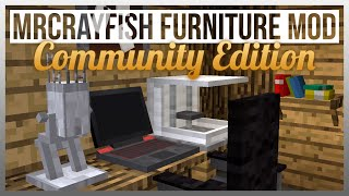 OFFICE TOUR! - MrCrayfish's Furniture Mod CE Update #3 - Office Furniture!