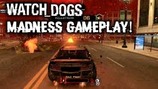 Watch Dogs Madness Gameplay&Watch Dogs Hacking Players In Free Roam! PS4, Xbox One