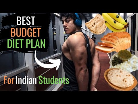 FULL DAY OF EATING Indian Bodybuilding 🇮🇳 Bulking DIET & MEALS for STUDENTS (Hostel/College)
