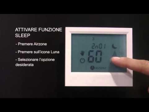 Utilizzo: Funzione Sleep