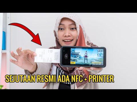 Hape Canggih? Bisa NgePrint Ada NFC + Test PUBG