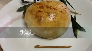 A classic potato knish recipe. Golden pastry filled with a savory mixof potato and onion, a dash of cayenne pepper on the top finishes them off  and makes these potato knishes absolutely delicious! There's nothing like a piping hot homemade knish. They're easy to make and can be had as a light meal, snack or sided with soup. These are baked knishes but they can be fried instead. All recipes are also posted on my blog, you can visit by clicking on the link below.http://supersimplekitchen.blogspot.gr/Get my free App for your mobile phone,tablet or Ipad and have all my latest recipes right at your fingertips! To get the app just click on the link below.http://supersimplekitchen.blogspot.gr/2013/05/get-app.html