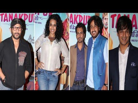 Vivek Oberoi, Nawazuddin , Arshad Warshi & Others At Screening Of Film Miss Tanakpur Haazir Ho.