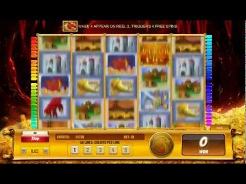 Slot Draco's Fire by Aristocrat - Slotmachinefree.net