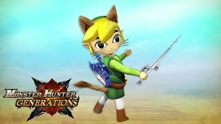 Monster Hunter Generations x The Legend of Zelda: The Wind Waker