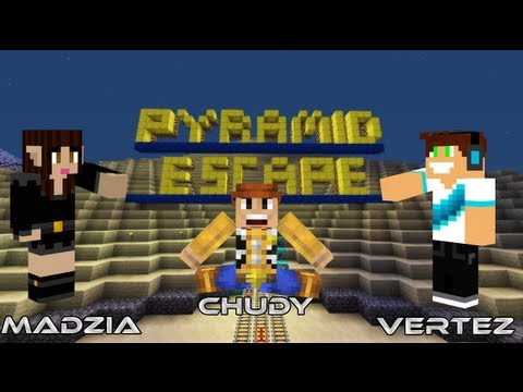 Minecraft Escape - Vertez, Madzia, Chudy - Pyramid Escape