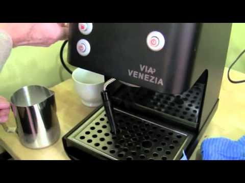 Crew Review: Via Venezia Refurbished Espresso Machine