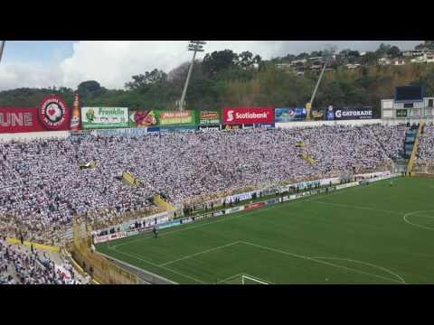 Recibimiento de Alianza fc final clausura 2017 - La Ultra Blanca y Barra Brava 96 - Alianza