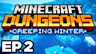 •️•️ ILLUSIONER BOSS BATTLE! - Minecraft Dungeons: Creeping Winter DLC Ep.2 (Gameplay / Let's Play)