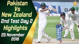 Pakistan Vs New Zealand   Highlights   2nd Test Day 2   25 November 2018   PCB