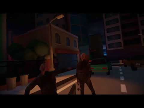 Killing Zombies with Friends VR