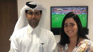 Qatar Total Open 2020: Nasser al Khelaïfi, a exprimé son soutien à la joueuse tunisienne Ons Jabeur.
