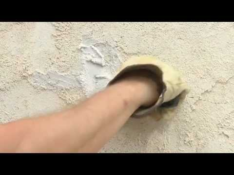 How to Repair Cracks and Holes in Stucco