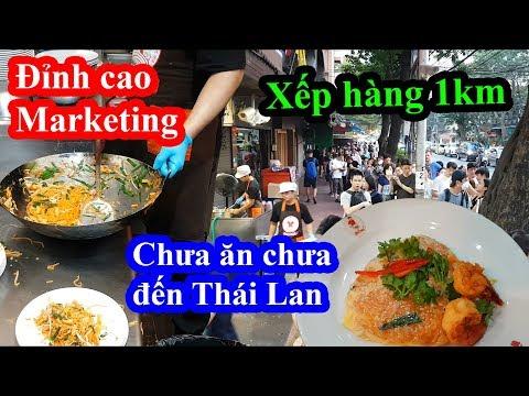 Quá sốc chỉ vì dĩa phở xào 100k ngon nhất Thái Lan mà xếp hàng 2 tiếng mới được ăn - Thip Samai - Thời lượng: 35 phút.