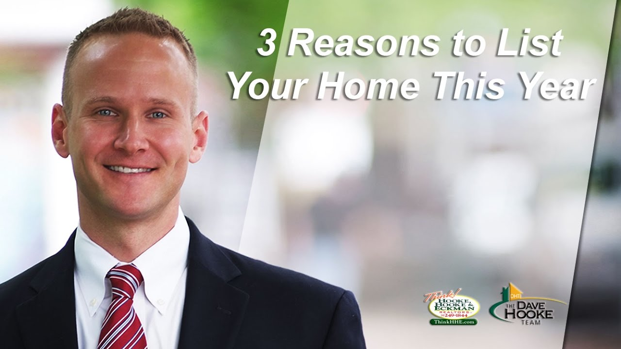 3 Reasons You Should Be Selling Your Home in 2017