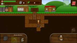 Treasure Miner - a mining game YouTube video