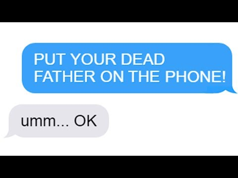 "Reddit funny - r/Maliciouscompliance ""PUT YOUR DEAD FATHER ON THE PHONE!"" Funny Reddit Posts"