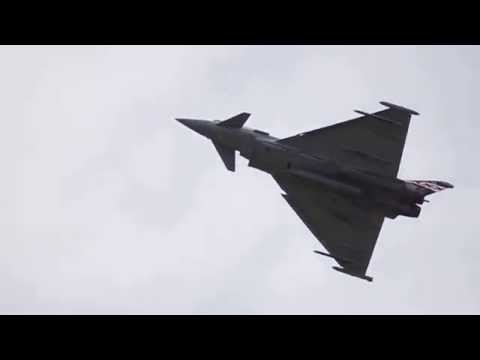 Eurofighter Typhoon EF-2000 - Farnborough...