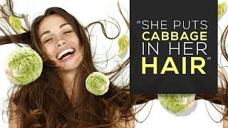 Day 7: 'She Puts Cabbage in Her Hair'