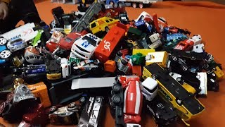 100+ cars toys: Kid Playing with toys Cars - Dlan Playing with 100 cars toys