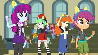 Chs Rally Song   Mlp  Equestria Girls   Friendship Games   Hd