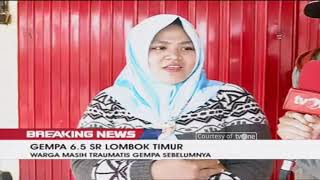 Video BREAKING NEWS!! Gempa 6,5 SR Guncang Lombok Timur MP3, 3GP, MP4, WEBM, AVI, FLV Agustus 2018