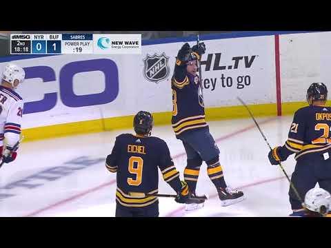 Video: New York Rangers vs Buffalo Sabres | NHL | OCT-06-2018 | 19:00 EST
