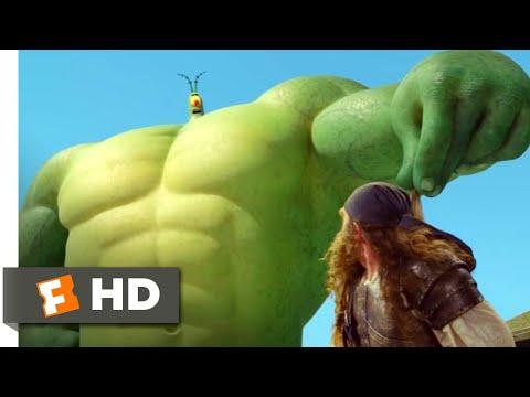 The SpongeBob Movie: Sponge Out of Water (2015) - PlankTON Vs. BurgerBeard Scene (9/10)   Movieclips