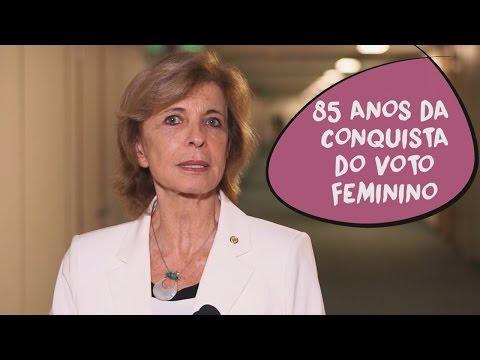 Yeda Crusius: 85 anos da conquista do voto feminino