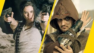 Tomb Raider VS Assassin's Creed rap battle by Adam Arnali
