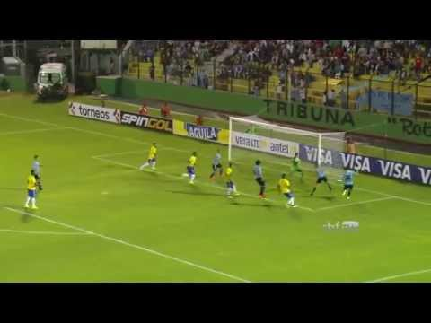 Confira os lances de Brasil 0X2 Uruguai, pelo Sulamericano sub-20