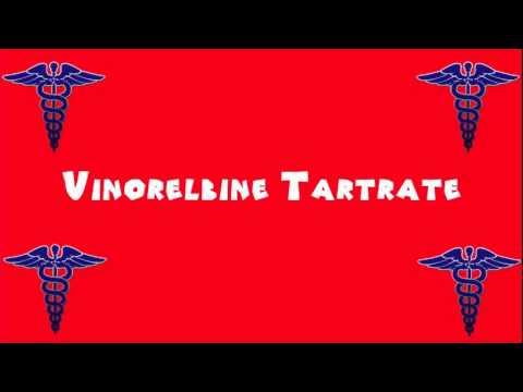 Pronounce Medical Words ― Vinorelbine Tartrate