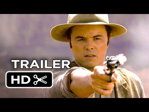 A Million Ways To Die In The West TRAILER 1 (2014) - Charlize Theron, Sarah Silverman Movie HD