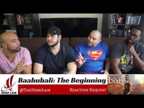 Baahubali Begining Foreigners shocked - Trailer Reaction, Hero Lair