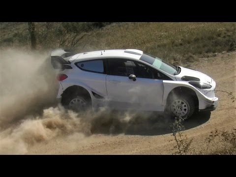 Test Ott Tanak | Ford Fiesta WRC 2017 | Day 2 pre Rally Mexico by Jaume Soler
