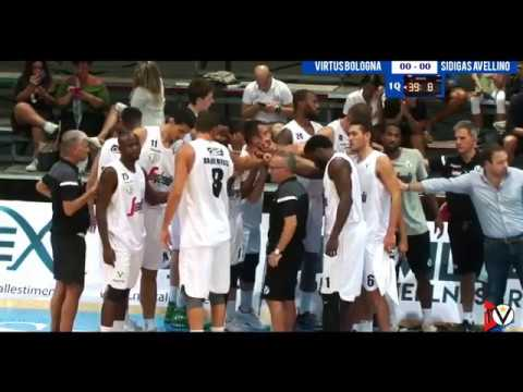 Virtus, gli highlights del match con Avellino