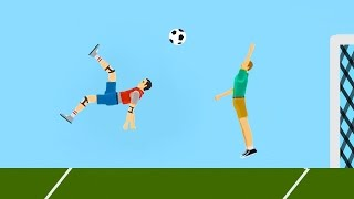 Video WORLD'S BEST FOOTBALL GOAL EVER! (Happy Wheels #83) MP3, 3GP, MP4, WEBM, AVI, FLV September 2017