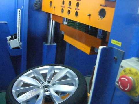 Тест литых дисков WSP Italy W457 Rostock на удар обода (Volkswagen)