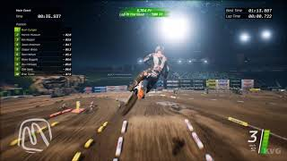 Monster Energy Supercross - Anaheim 1 (Angel Stadium 1) - Gameplay (PC HD) [1080p60FPS]
