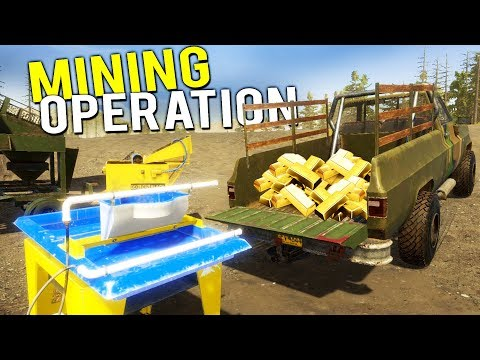 The WAVE TABLE And Our MILLION DOLLAR GOLD MINING OPERATION! - Gold Rush Full Release Gameplay